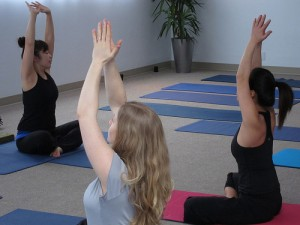 fitness amenities yoga class